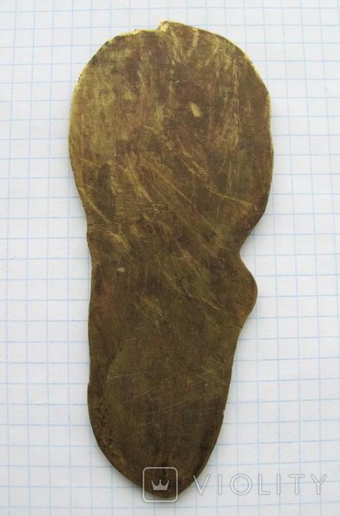 Накладка на книгу (латунь или бронза), фото №3