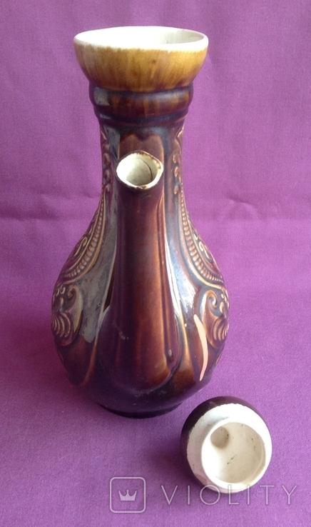 Глечик для вина Візерунок. Кераміка., фото №5