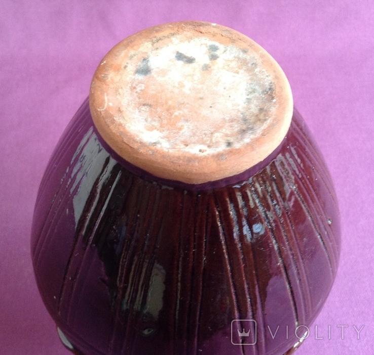 Глечик для вина Кругленький. Кераміка., фото №5