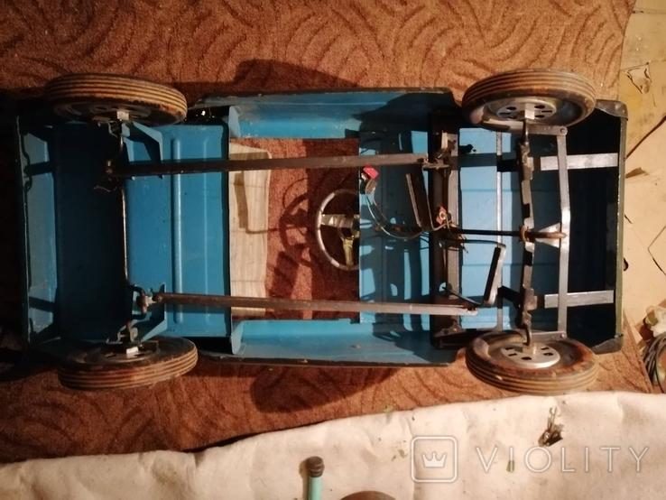 Педальная машинка Львовянка. лот 5. Рожденный в СССР, фото №5