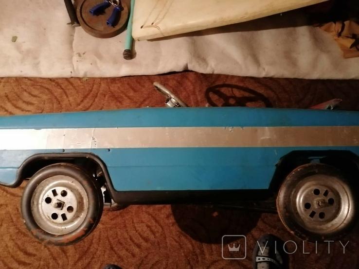 Педальная машинка Львовянка. лот 5. Рожденный в СССР, фото №7
