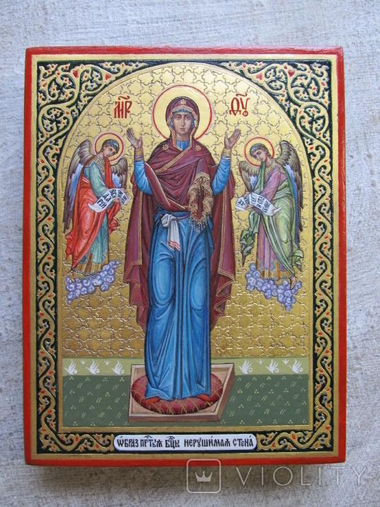 Икона Богородицы Нерушимая Стена, фото №3