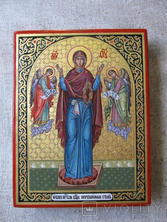 Икона Богородицы Нерушимая Стена, фото №4