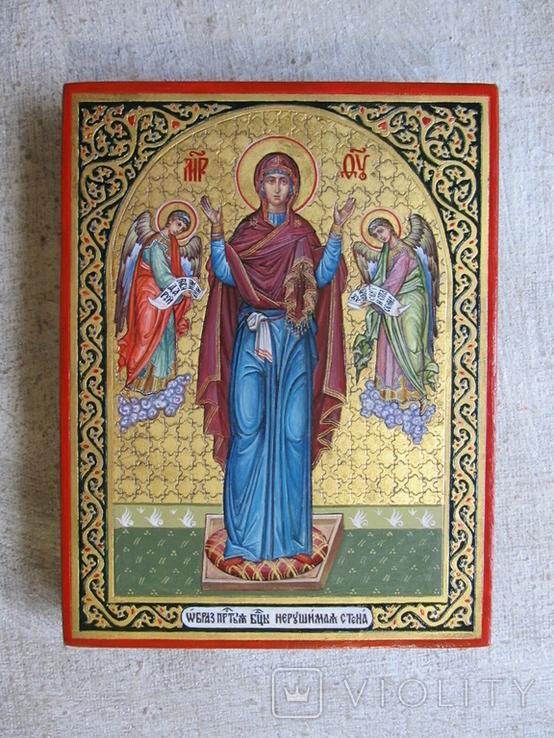 Икона Богородицы Нерушимая Стена, фото №6