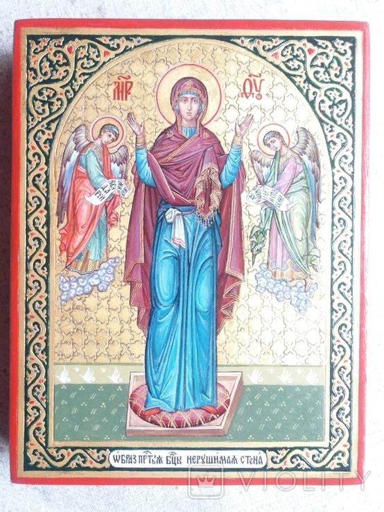 Икона Богородицы Нерушимая Стена, фото №8