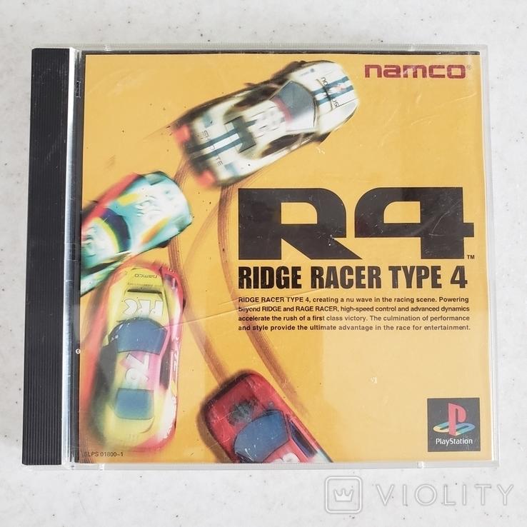 Ridge Racer Type 4 (PS1) Namco, фото №2