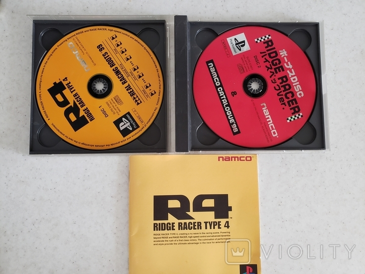 Ridge Racer Type 4 (PS1) Namco, фото №4