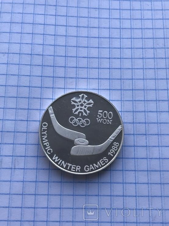 500 вон Олимпийские игры 1988 года, фото №5
