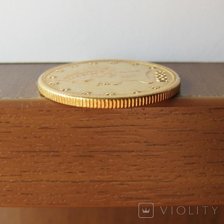 10 долларов 1889 г. США, фото №9