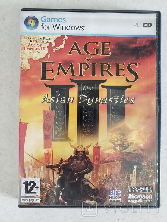 Age of Empires the Asian Dynasties (PC)