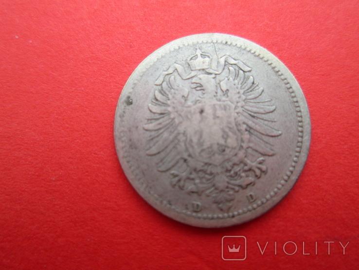 Германия 20 пфенингов D 1874, фото №3