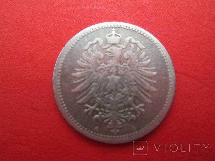 Германия 20 пфенингов A 1875 год, фото №3