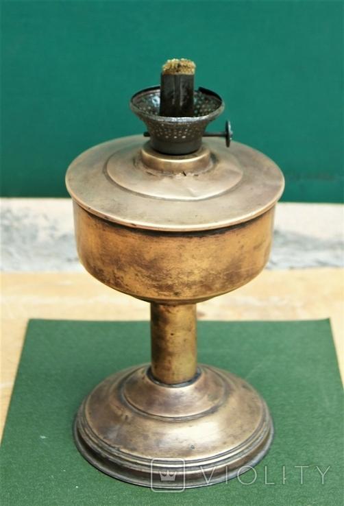 Старая киросинка 24 см , латунь, фото №7