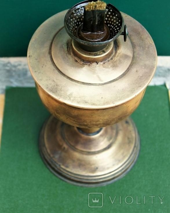Старая киросинка 24 см , латунь, фото №10