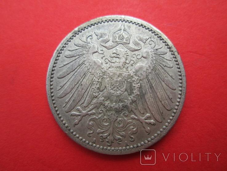 Германия 1 марка 1909 год А, фото №3
