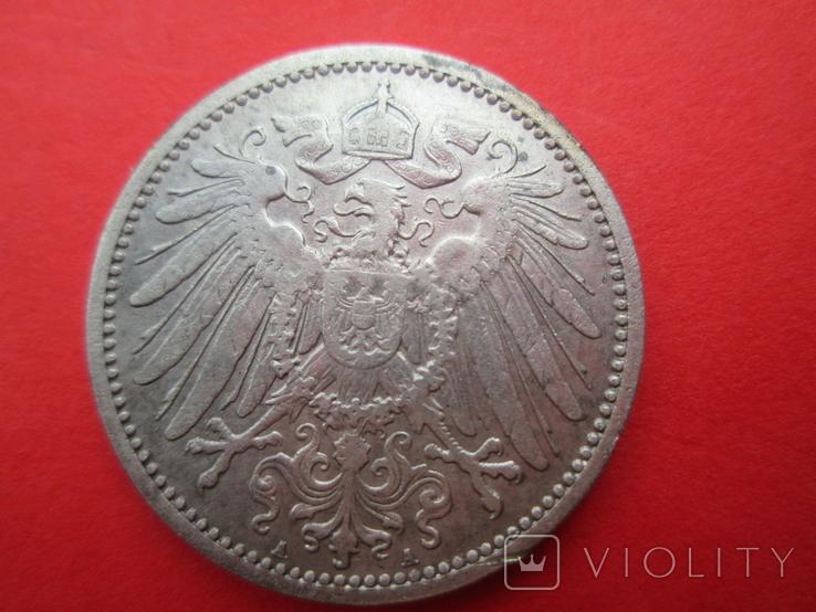 Германия 1 марка 1907 год А, фото №3