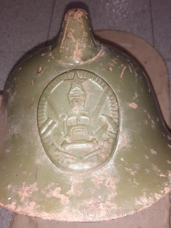 Каска пожарного СССР 50-е года, фото №2