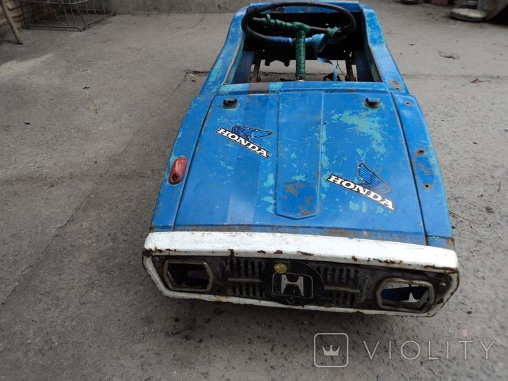 Автомобиль Радуга на педалях., фото №3
