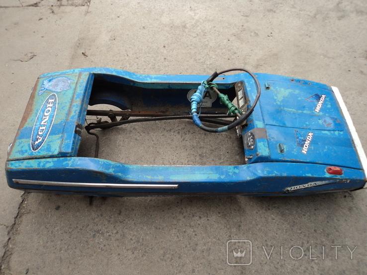 Автомобиль Радуга на педалях., фото №4