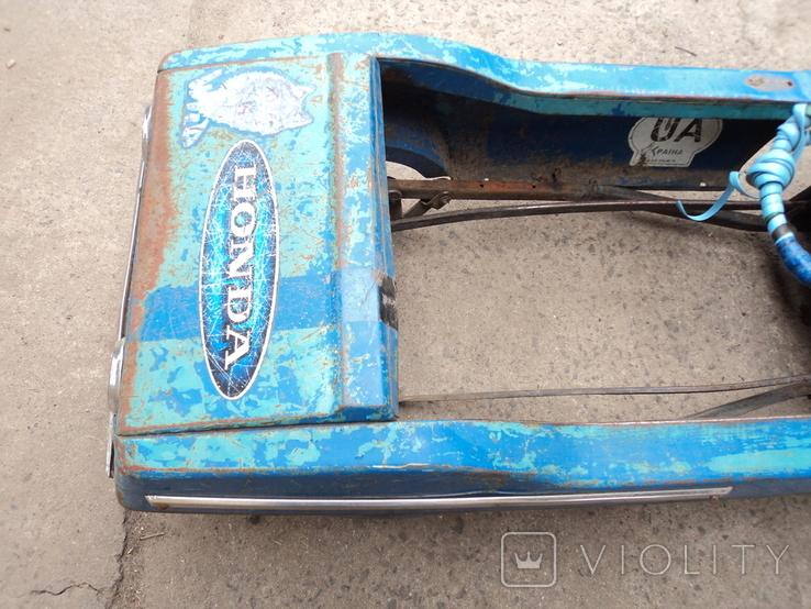 Автомобиль Радуга на педалях., фото №6