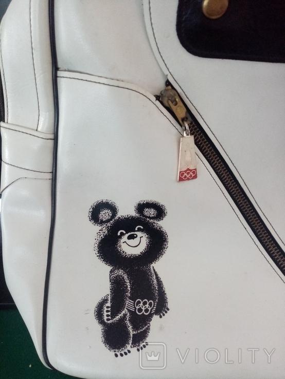 Сумка с олимпийским мишкой., фото №7