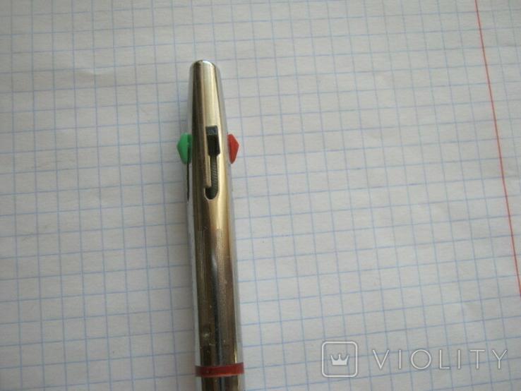 Ручка шариковая на четыре цвета времен СССР, фото №5