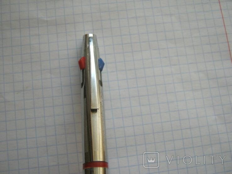 Ручка шариковая на четыре цвета времен СССР, фото №7