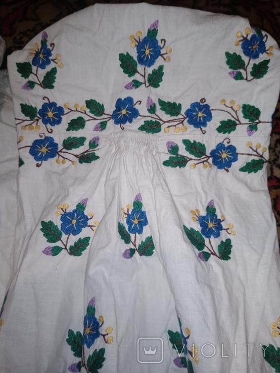 Сорочка калінкорова вишита гладю, фото №5