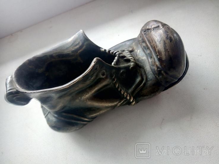Пепельница башмак ссср, фото №2