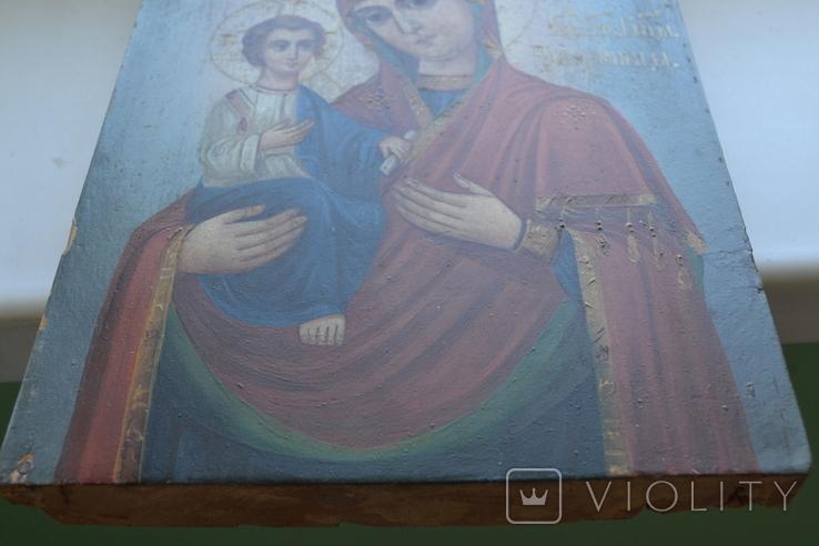 Икона Пресвятой Богородицы. Праворучица, фото №13