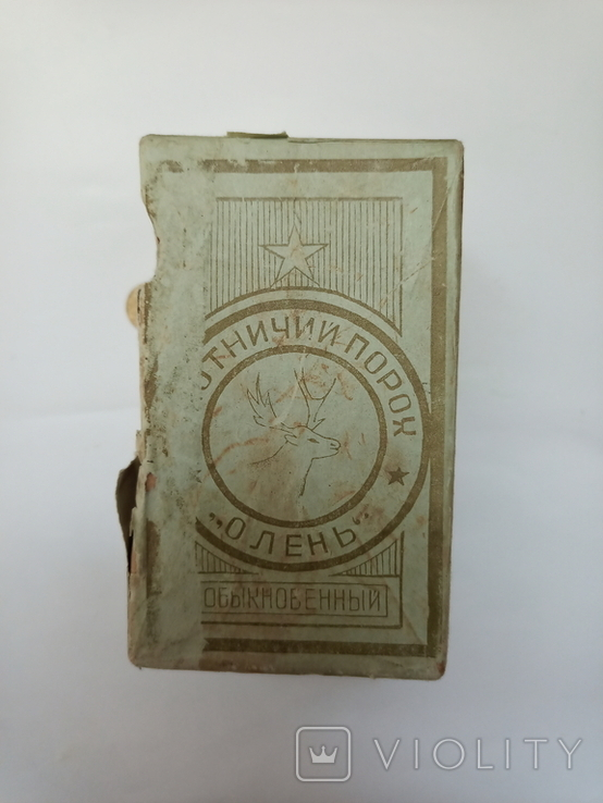 Коробка от дымного пороха ОЛЕНЬ, фото №2