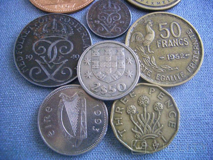 Монеты стран Европы, 8 монет, фото №6