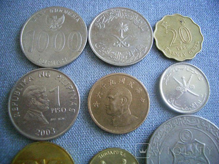 Монеты стран Азии, 9 монет, фото №4