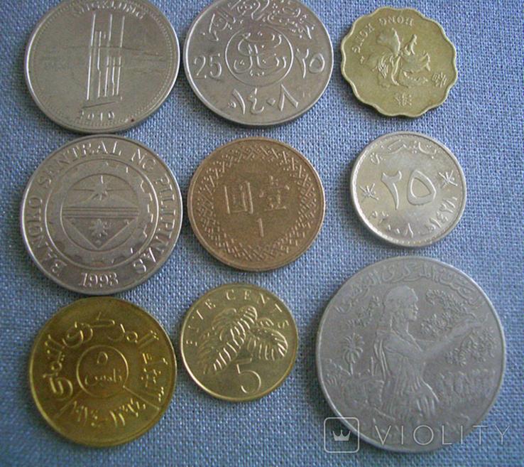 Монеты стран Азии, 9 монет, фото №5