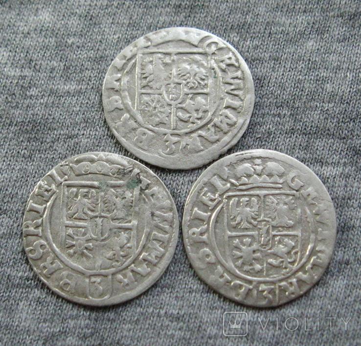 1/24 талера 1624 года. Георг Вильгельм. Пруссия ( разновидности, 3 штуки )., фото №5