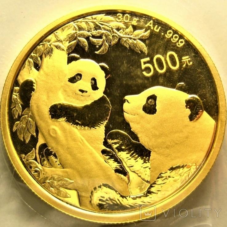 Китай 500 юань 2021 г., фото №2