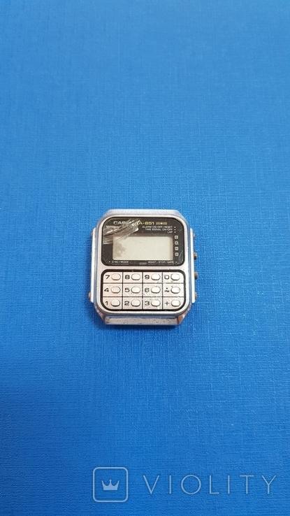 Часы Винтажные ретро Casio CA 851 Japan, фото №2