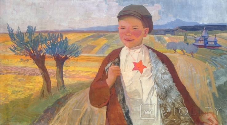 Соцреализм 1 Сентября 1960 е гг. Скосаренко Владимир Ильич 1927 г.р., фото №3