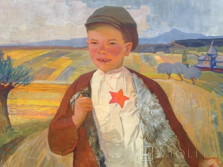 Соцреализм 1 Сентября 1960 е гг. Скосаренко Владимир Ильич 1927 г.р., фото №5
