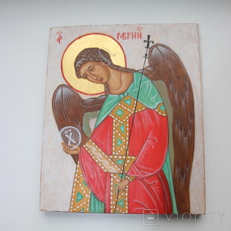 Икона Ангел 18х21, фото №3