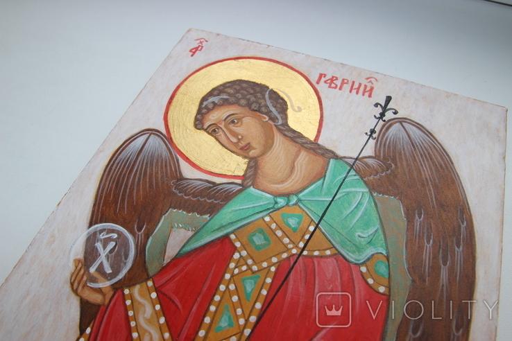 Икона Ангел 18х21, фото №5