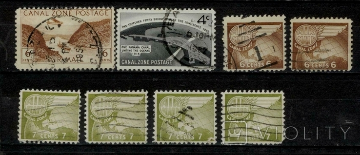 Панамський канал 1931-1962 повна серія + добірка