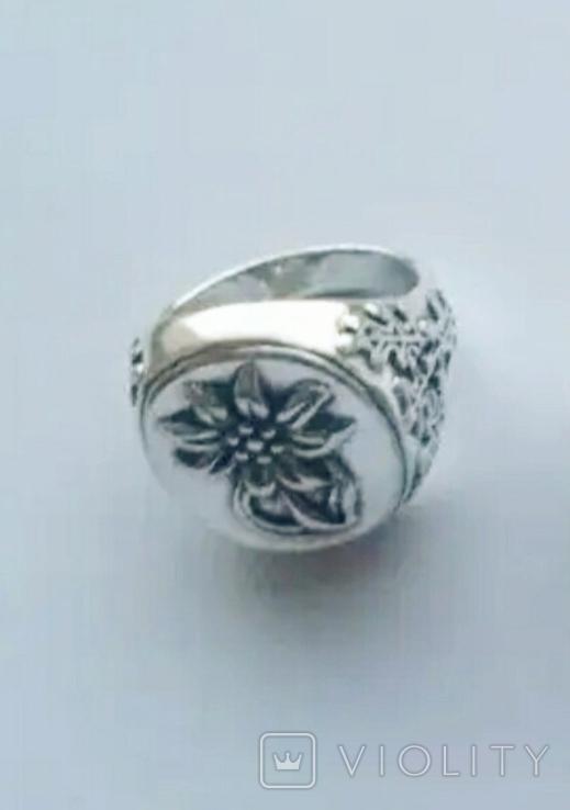 Копия: Эдельвейс перстень Вермахт печатка Рейх, фото №4