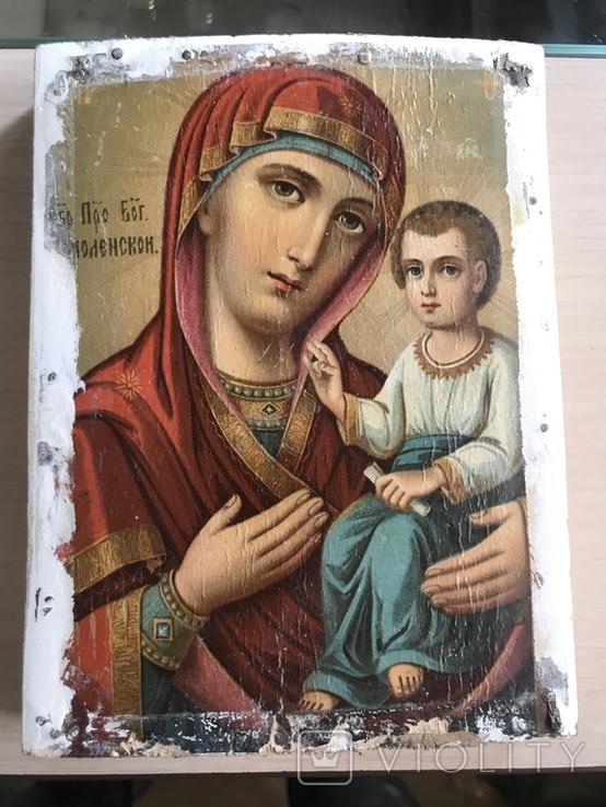 Икона Прс. Бог. Смоленской, фото №2