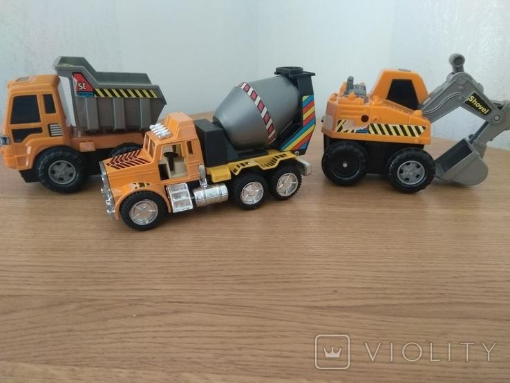 Машини: будівельний транспорт (3 шт.), фото №2