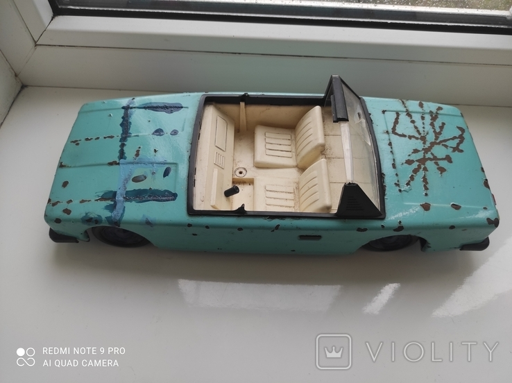 Жестяная машинка СССР, фото №10