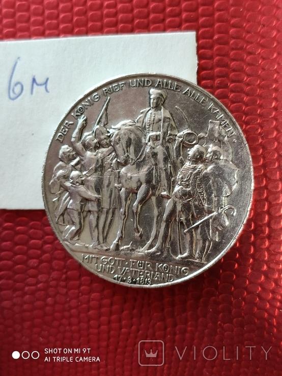 """3 марки Пруссия""""Толпа народа""""1913, фото №7"""