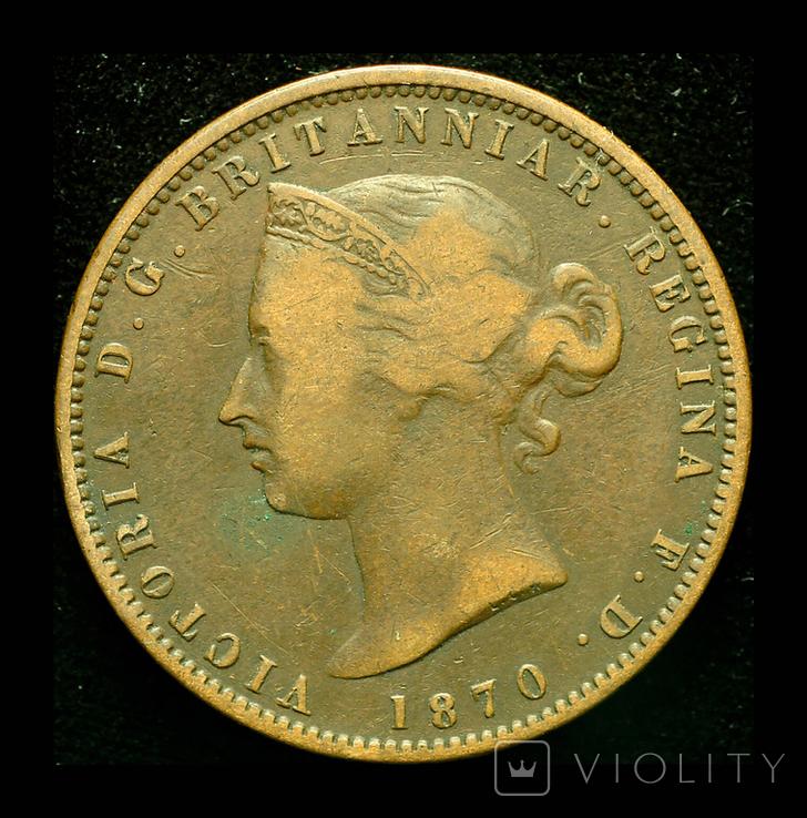 Джерси 1/13 шиллинга 1870, фото №3