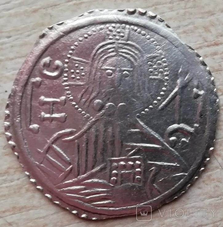 Серебряник Владимира тип 1 серебро копия, фото №2