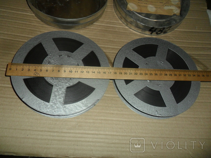 Кинопленка 16 мм 2 шт На родине Тургенева 2 части, фото №4